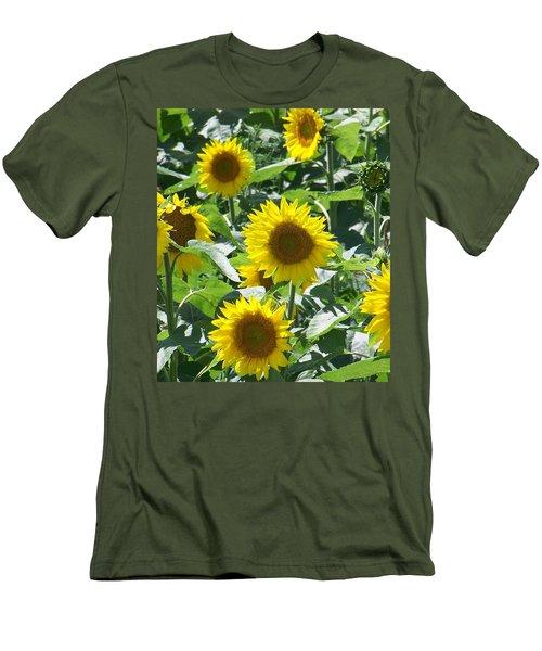 Happy Faces Men's T-Shirt (Slim Fit)