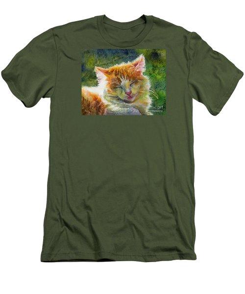 Happy Sunbathing 2 Men's T-Shirt (Athletic Fit)