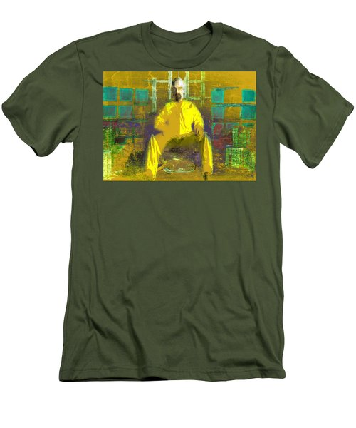 Men's T-Shirt (Slim Fit) featuring the digital art Hard Work by Brian Reaves