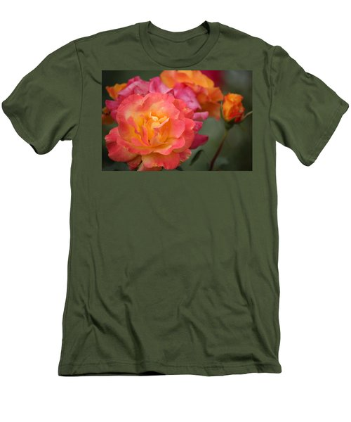 Men's T-Shirt (Slim Fit) featuring the photograph Harmony by Rowana Ray