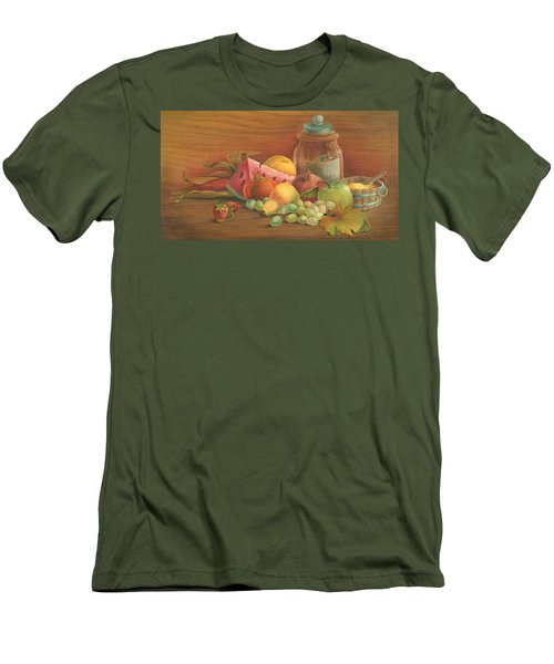 Harvest Fruit Men's T-Shirt (Athletic Fit)