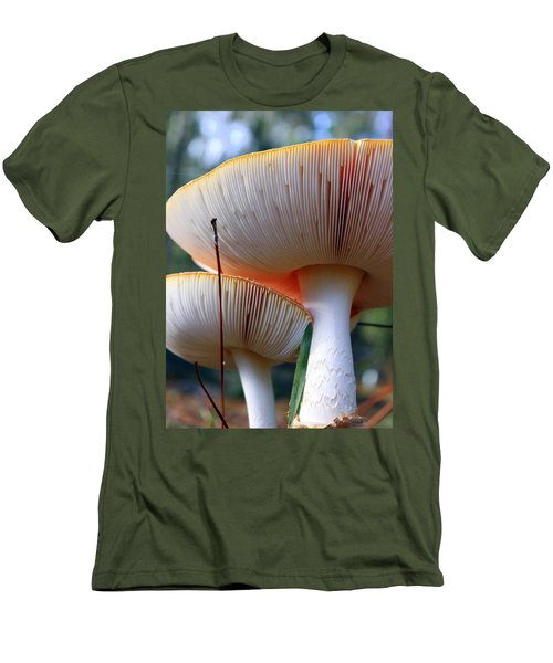 Hats On Men's T-Shirt (Athletic Fit)