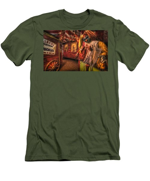 Haunted Circus Men's T-Shirt (Athletic Fit)