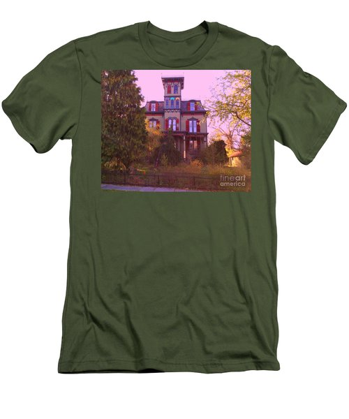 Men's T-Shirt (Slim Fit) featuring the photograph Hauntingly Victorian 1 by Becky Lupe