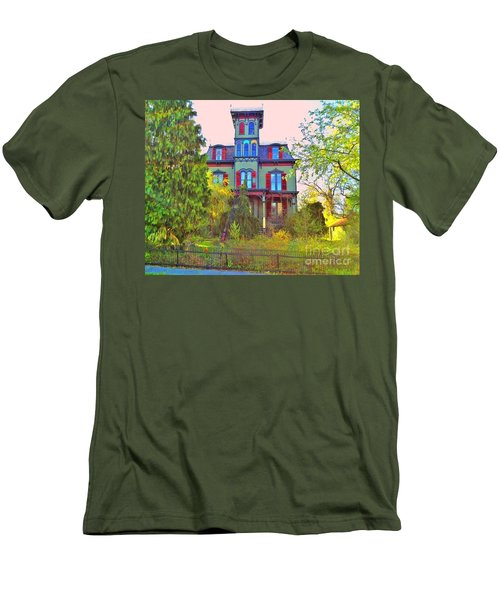 Men's T-Shirt (Slim Fit) featuring the photograph Hauntingly Victorian  by Becky Lupe