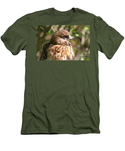 Hawk With An Attitude Men's T-Shirt (Athletic Fit)