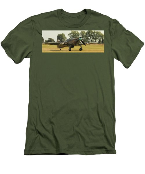 Hawker Hurricane Taxing Men's T-Shirt (Athletic Fit)