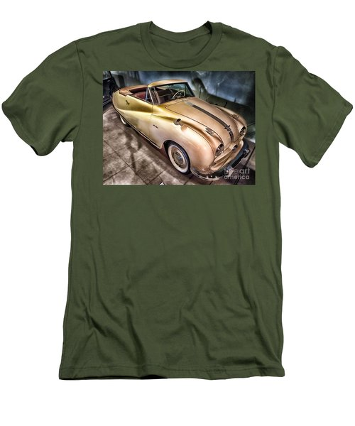 Men's T-Shirt (Slim Fit) featuring the photograph Hdr Classic Car by Paul Fearn