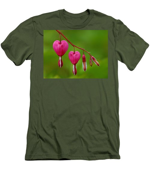 Heart String Men's T-Shirt (Athletic Fit)