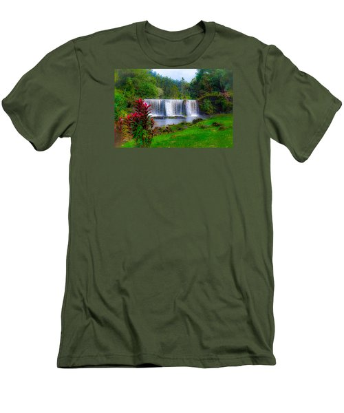 Heaven In The Woods Men's T-Shirt (Athletic Fit)