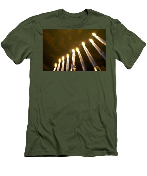 Heavenly Lights Men's T-Shirt (Athletic Fit)