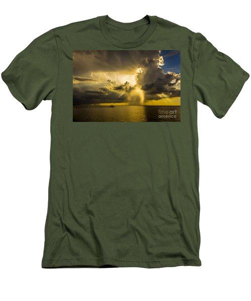 Heavens Window Men's T-Shirt (Slim Fit) by Marvin Spates