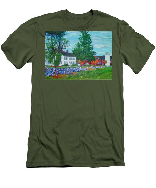 Henry Warren House And Barn Men's T-Shirt (Athletic Fit)