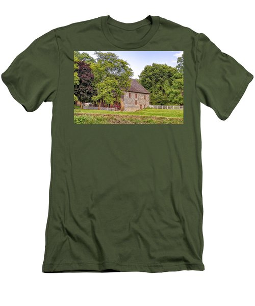 Men's T-Shirt (Slim Fit) featuring the photograph Herr's Mill by Jim Thompson