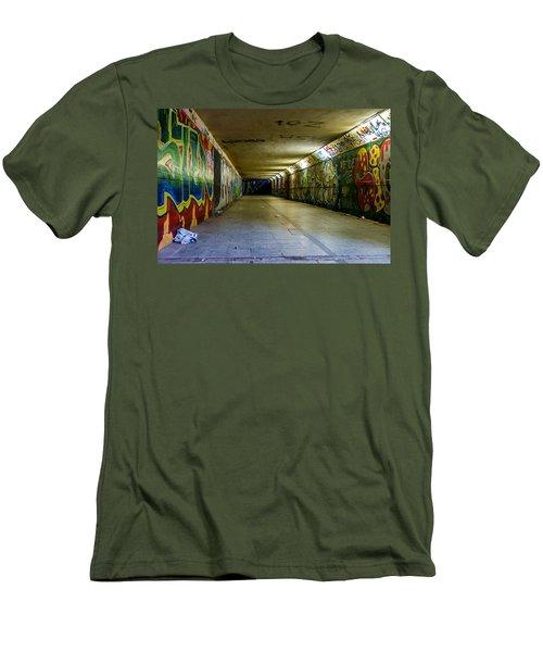 Hidden Art Men's T-Shirt (Slim Fit) by Tgchan