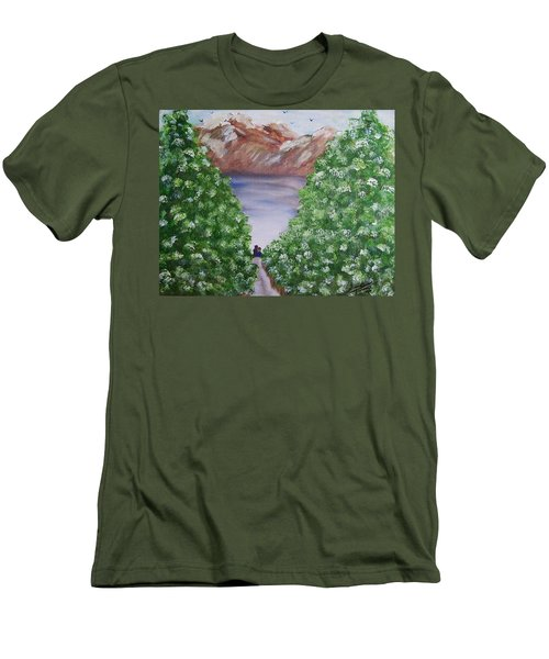 Hidden Escape Men's T-Shirt (Athletic Fit)