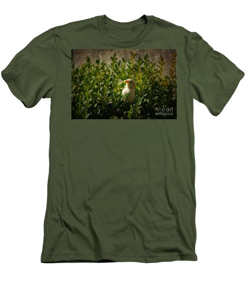 Men's T-Shirt (Slim Fit) featuring the photograph Hide And Seek by Mariola Bitner