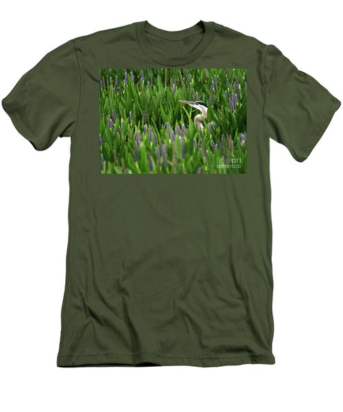 Hiding Men's T-Shirt (Athletic Fit)