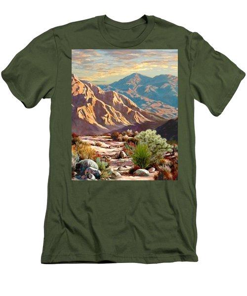 High Desert Wash Portrait Men's T-Shirt (Slim Fit) by Ron Chambers