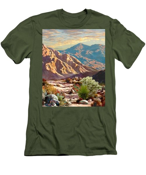 High Desert Wash Portrait Men's T-Shirt (Athletic Fit)