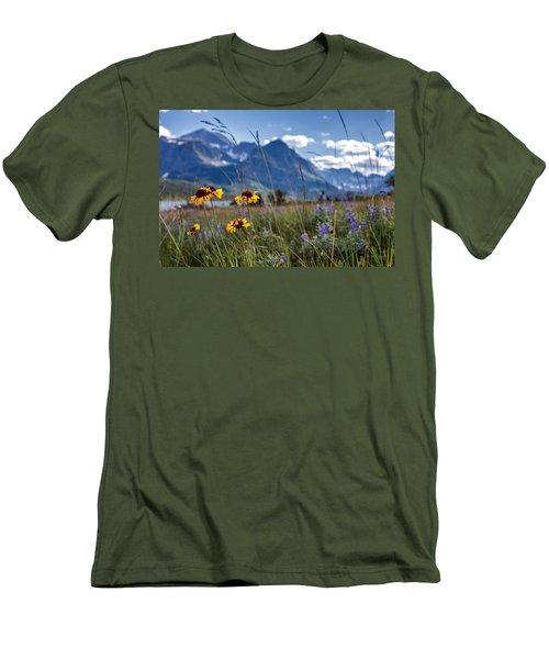 High Plains Men's T-Shirt (Slim Fit) by Aaron Aldrich