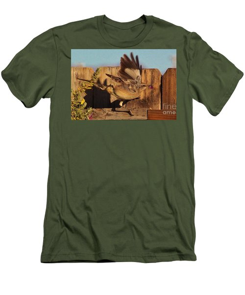 Hightail It Out Of There Men's T-Shirt (Athletic Fit)