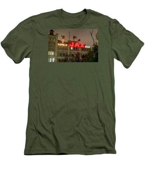 Men's T-Shirt (Slim Fit) featuring the photograph Home Of Jax by Tim Stanley