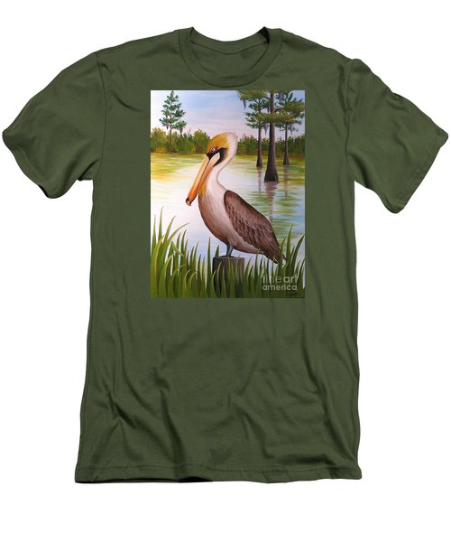 Home On The Bayou  Men's T-Shirt (Athletic Fit)