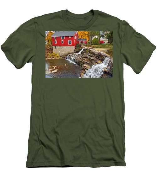 Honeoye Falls 1 Men's T-Shirt (Athletic Fit)