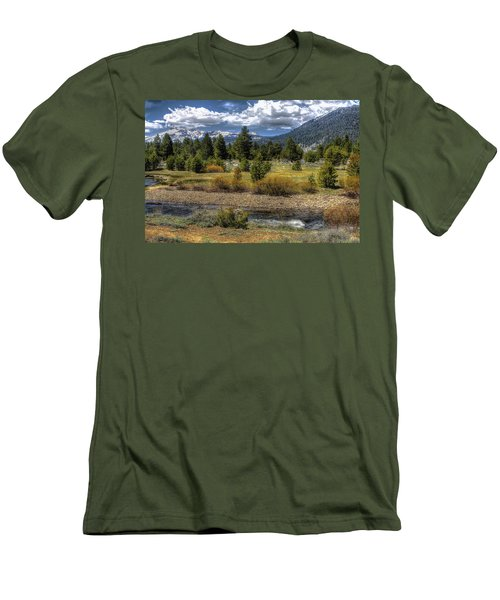 Hope Valley Wildlife Area Men's T-Shirt (Athletic Fit)