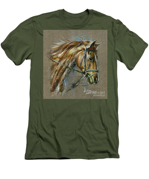 My Horse Face Drawing Men's T-Shirt (Athletic Fit)