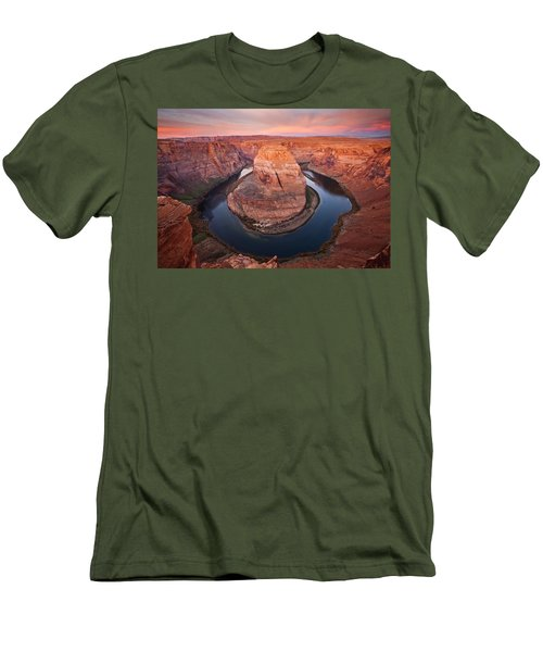 Horseshoe Dawn Men's T-Shirt (Athletic Fit)