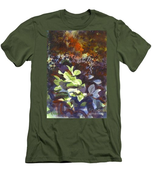 Hostas In The Forest Men's T-Shirt (Athletic Fit)