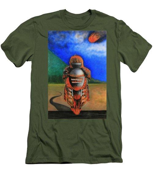 Hot Moto Men's T-Shirt (Athletic Fit)