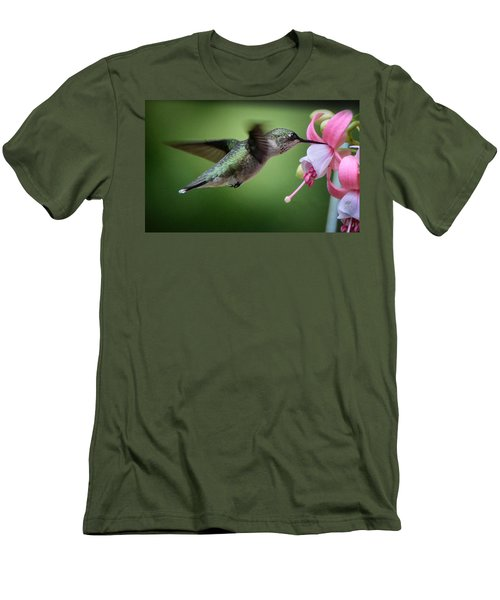 Hummingbird Carbs Men's T-Shirt (Athletic Fit)