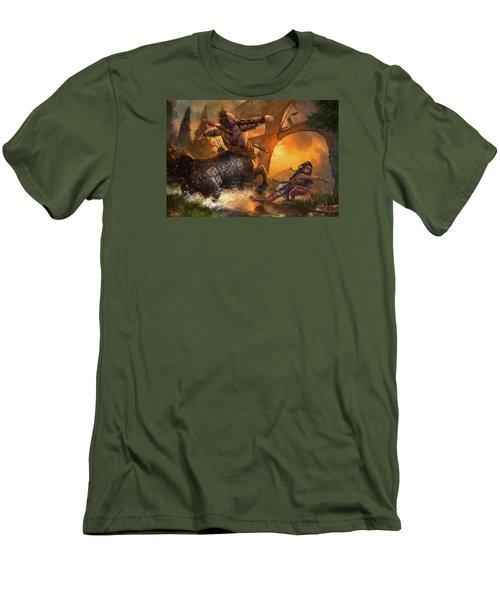 Hunt The Hunter Men's T-Shirt (Athletic Fit)