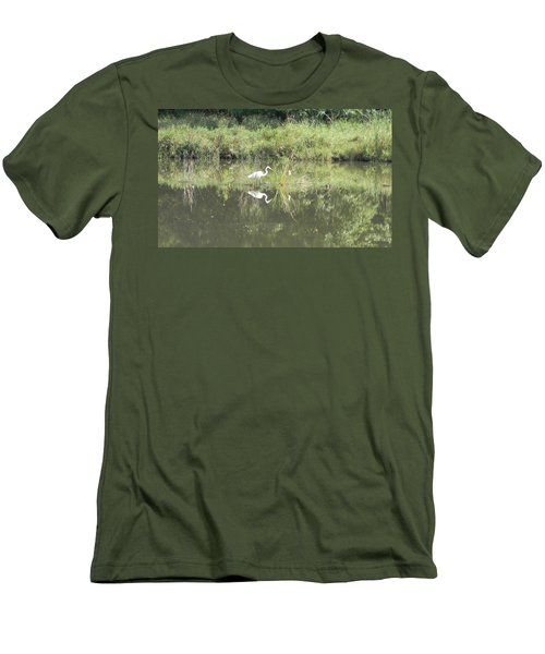 Hunter Reflected 1 Men's T-Shirt (Athletic Fit)
