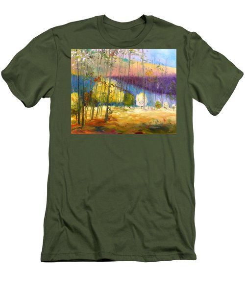 I See A Glow Men's T-Shirt (Slim Fit) by John Williams