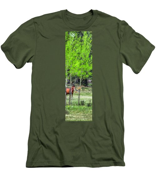 I See You 6172 Men's T-Shirt (Slim Fit) by Jerry Sodorff