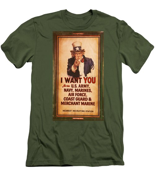 I Want You Men's T-Shirt (Athletic Fit)