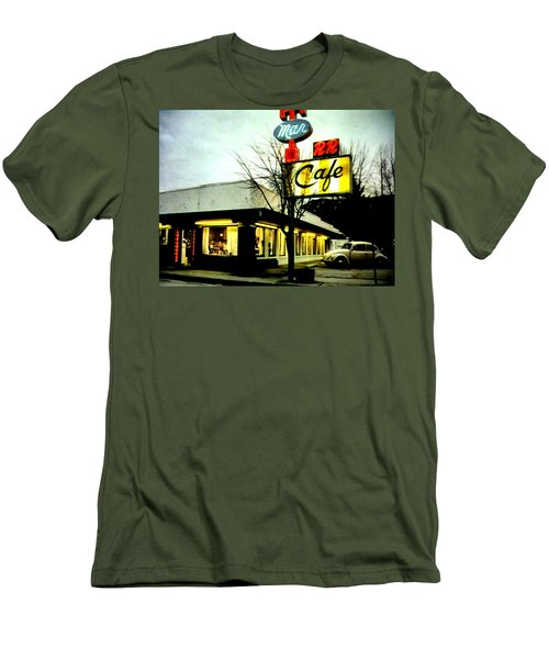 I Went For Breakfast At The Double R Men's T-Shirt (Athletic Fit)