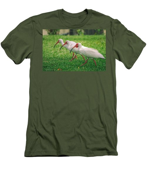 Ibis Lawn Service Men's T-Shirt (Athletic Fit)