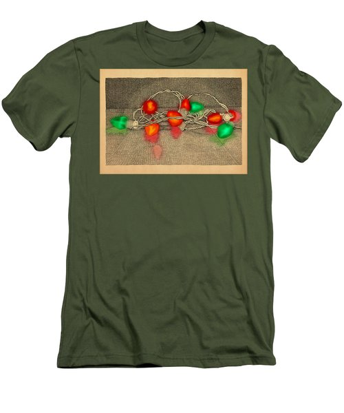 Illumination Variation #4 Men's T-Shirt (Slim Fit) by Meg Shearer