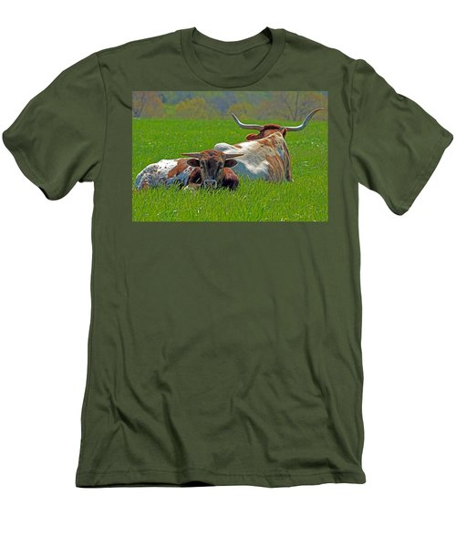 Men's T-Shirt (Slim Fit) featuring the photograph I'm Just A Baby by Lynn Sprowl