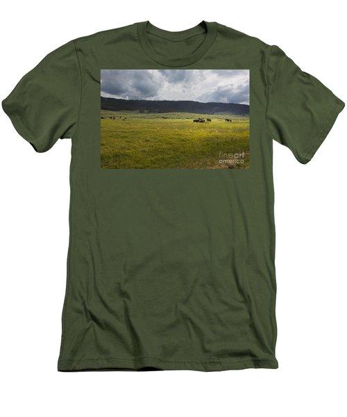 Imagine Men's T-Shirt (Slim Fit) by Belinda Greb
