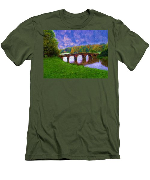 Impressions Of Stourhead Men's T-Shirt (Athletic Fit)