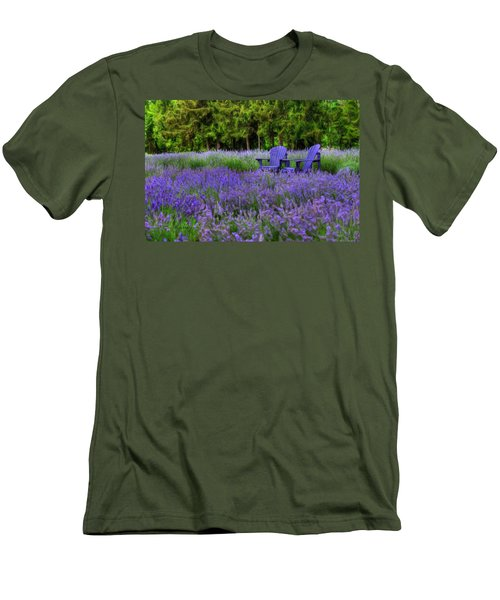 In Lavender Men's T-Shirt (Athletic Fit)