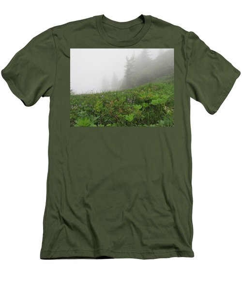 Men's T-Shirt (Slim Fit) featuring the photograph In The Mist - 1 by Pema Hou