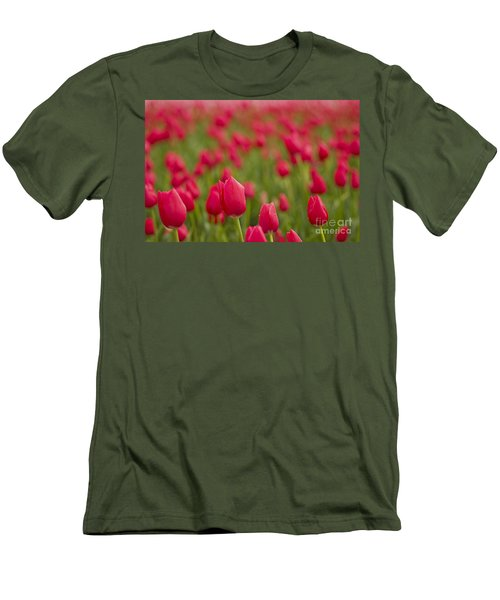Men's T-Shirt (Slim Fit) featuring the photograph Seeing Red by Nick  Boren