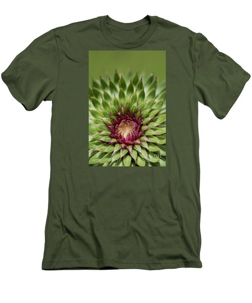 In Thistle's Heart Men's T-Shirt (Athletic Fit)